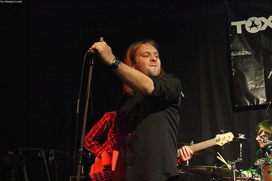 Mirosław Wlazły wokalista zespołu Dreg