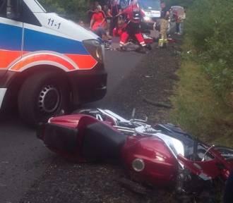 Śmiertelne uderzenie yamahy w rower. 38-letni motocyklista i 35-letni rowerzysta nie żyją