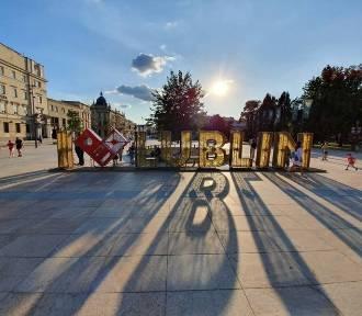 """Napis """"I Love Lublin"""" z placu Litewskiego pod Zamek?"""