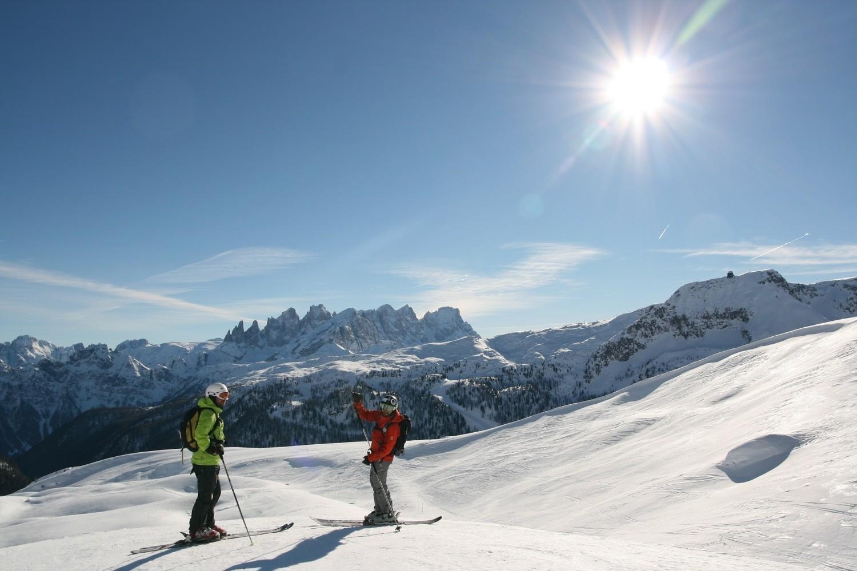"""Największy ośrodek narciarski we włoskim Trentino (Trydent) - Madonna di Campiglio (w regionie Val di Sole """"Dolina Słońca"""") - to łącznie 90 km tras"""