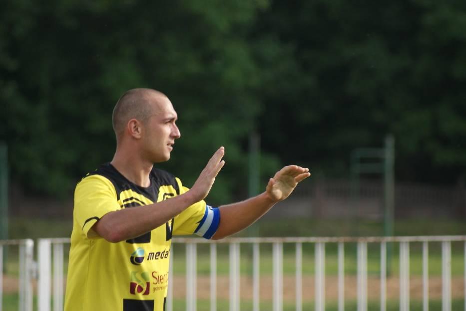 Marcin Kobierski jest kaptanem Warty Sieradz