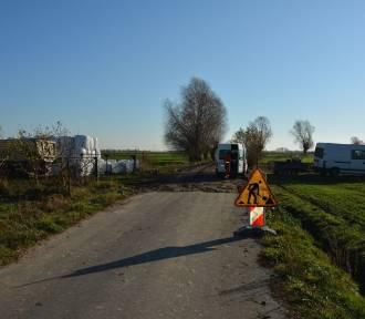 KOŹMIN WLKP.: Za 374,8 tys. zł przebudowano kolejną drogę gminną!