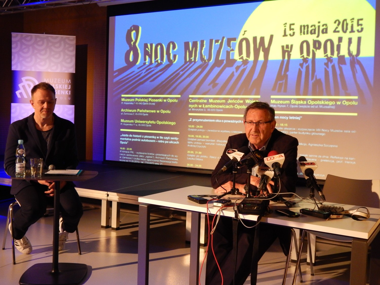 Konferencja prasowa VIII Nocy Muzeów w Opolu