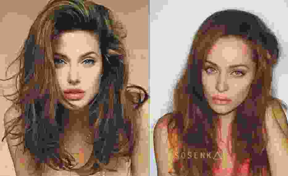 Śliczna Polka może wyglądać jak Angelina Jolie. Dziewczyna potrafi się upodobnić do każdego! [Zdjęcia]