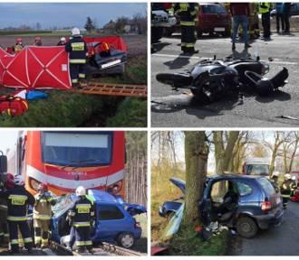 Ku przestrodze! Wypadki drogowe w Wielkopolsce w kwietniu 2021
