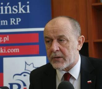Poseł Jan Mosiński domaga się wyjaśnień od policji w sprawie zatrzymania wójta Żelazkowa