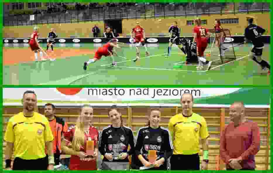 Ekstraliga Unihokeja Kobiet. PKS MOS Zbąszyń -  Interplastic Olimpia Osowa  Gdańsk 3:4
