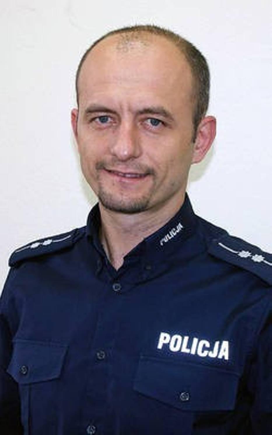 Policjant Roku 2013: Mariusz Świerczyński