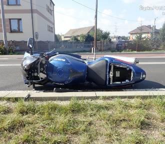 Tragiczny wypadek motocyklisty w Siewierzu, nie żyje 20-latek. Na nowo kupionym motorze, wjechał