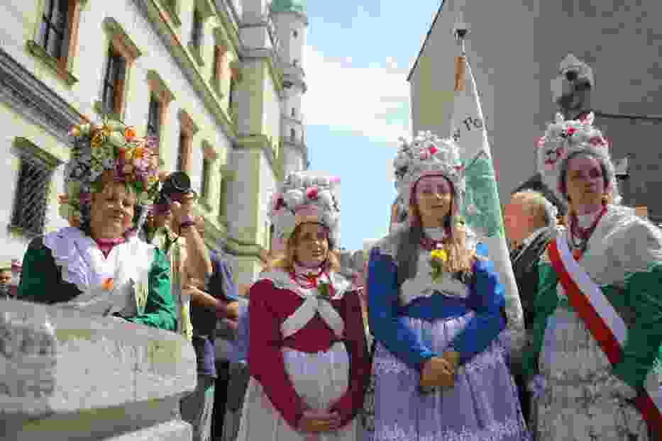 Bambrzy świętują. Kolorowo na Starym Rynku