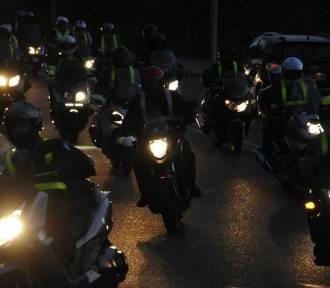 """Wielka parada motocyklowa w Trójmieście. Akcja """"Świeć przykładem nocą"""" [PROGRAM]"""