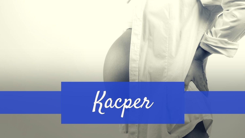 Imię Kacper zajęło 10