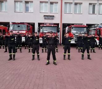 Przemyscy strażacy pomagają charytatywnie rocznemu chłopcu [WIDEO]