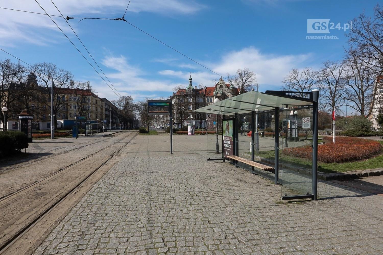 Opustoszały Szczecin, czyli wzmożona kwarantanna