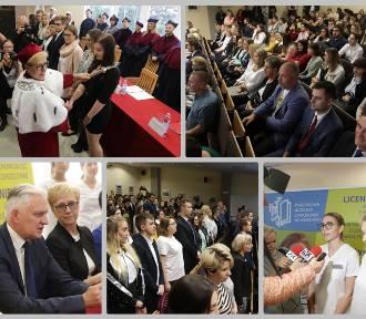 Inauguracja roku akademickiego 2019/20 w PUZ Włocławek [zdjęcia]