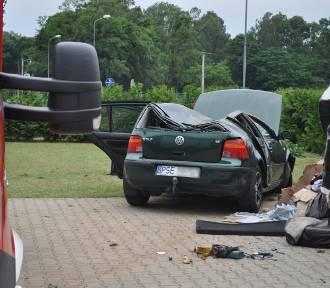Policyjne ustalenia wyjaśniają jak doszło do wypadku na ul. Śremskiej w Mechlinie [ZDJĘCIA]