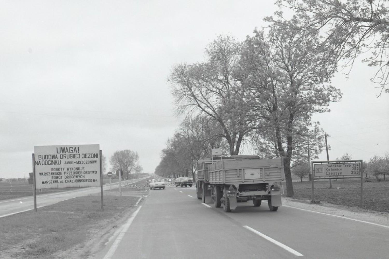 Gierkówka, odcinek Warszawa - Tomaszów Mazowiecki