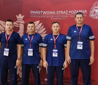 Dariusz Białk z KP PSP w Pucku i koledzy walczą w Gliwicach. Jest sukces!