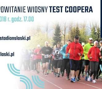 Biegowe Powitanie Wiosny czyli test Coopera na Stadionie Śląskim