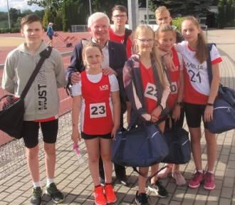 Młodzi biegacze z LKS Koluszki poprawili rekordy życiowe