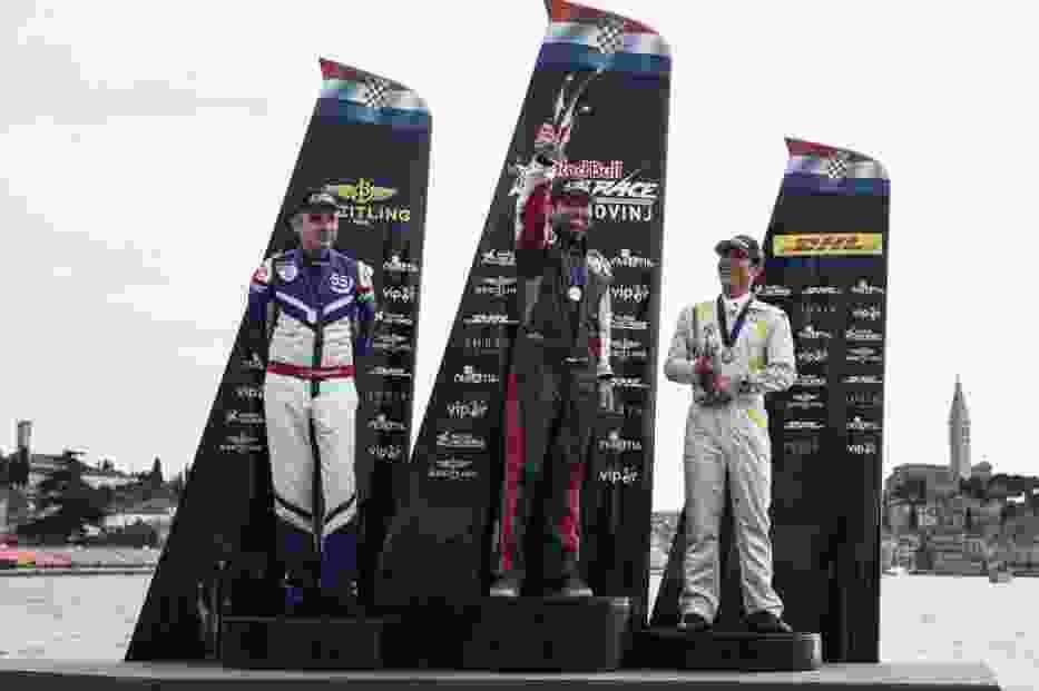 Arch, Bonhomme i Muroya na podium w Rovinj