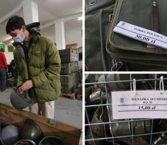 Odwiedziliśmy wojskowy magazyn w Gliwicach. Co tam kupisz?