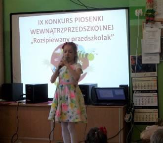 """Konkurs """"Rozśpiewany przedszkolak"""" w Przedszkolu nr 3 [ZDJĘCIA]"""