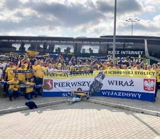 Lubelscy kibice w drodze na finał we Wrocławiu! [ZDJĘCIA]