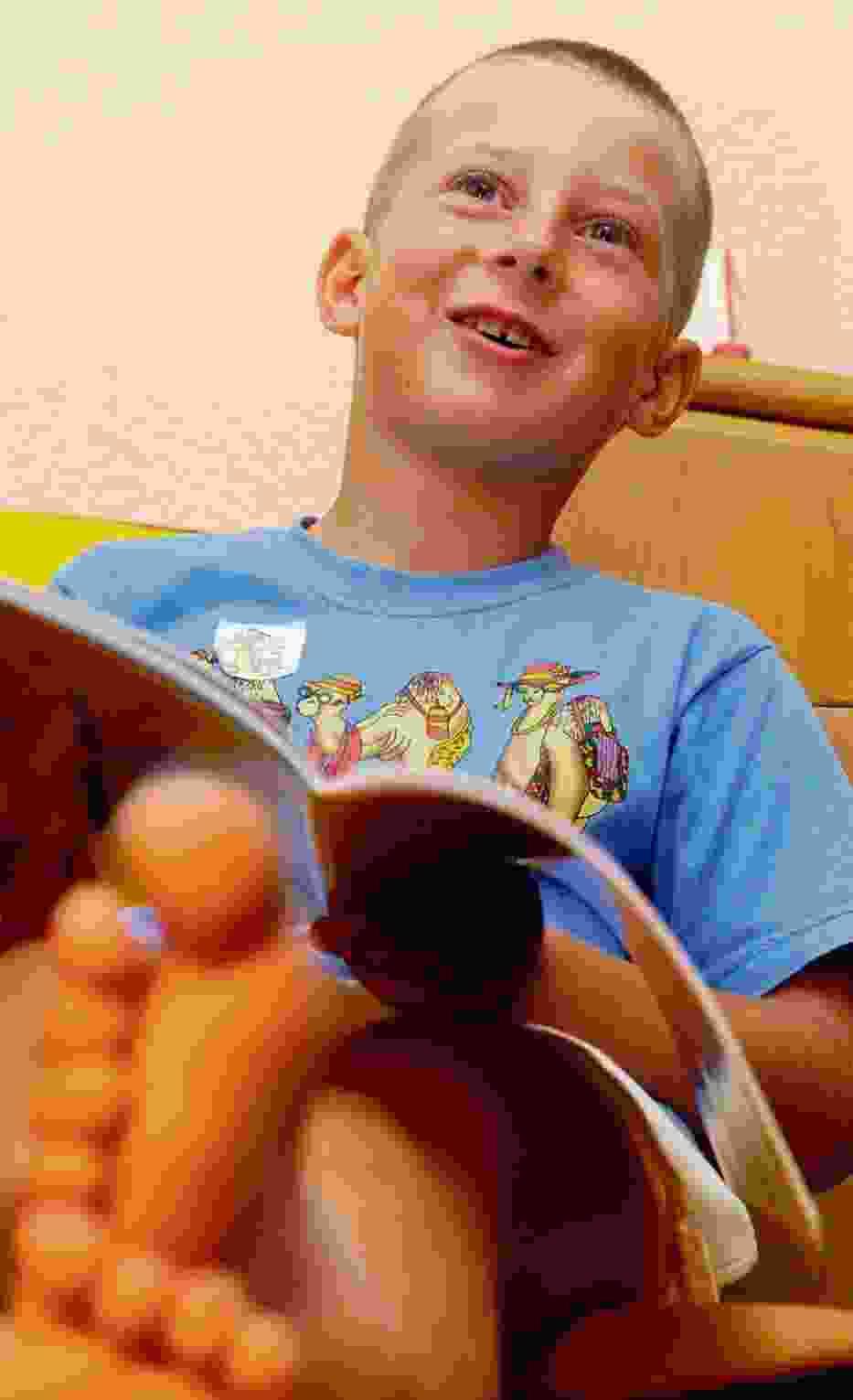 Marek Sikora ma 6 lat