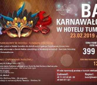 Bal Karnawałowy w Hotelu Tumskim. START godzina 20:00!