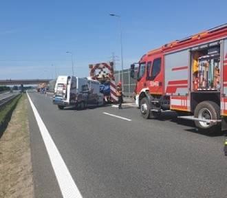 Wypadek na A4. Autostrada w kierunku Krakowa zablokowana [KRÓTKO]