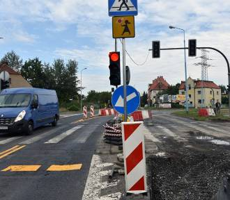 Trwa remont ulicy Leszczyńskiej, utrudnienia w ruchu [ZDJĘCIA]