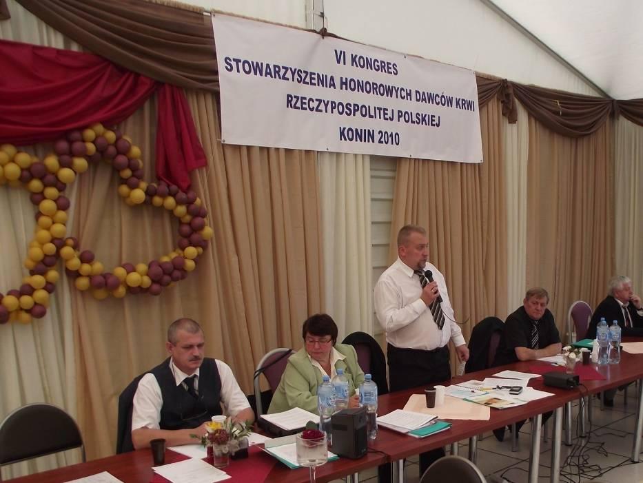 Nowo wybrany Prezes - Tomasz Ogrodnik