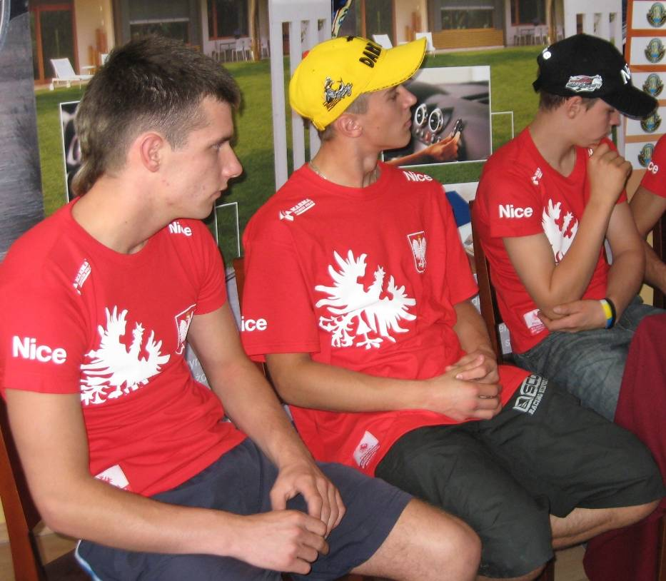 Artur Mroczka i Grzegorz Zengota już przed rokiem sięgnęli po złoty medal DMŚ juniorów