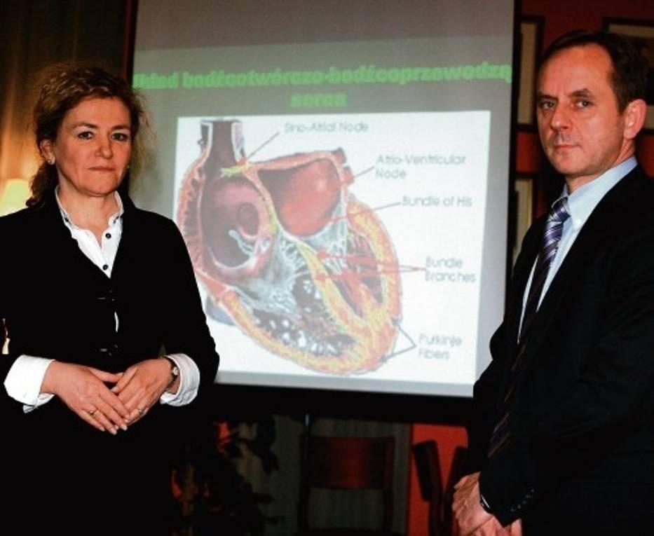 Serce i zaburzenia jego rytmu były głównym tematem spotkania, które odbyło się w poniedziałek, 1 marca w Katowicach