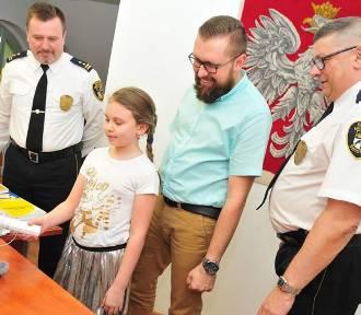 Maskotka Straży Miejskiej ma już imię. Wymyśliła je 8-letnia Agnieszka