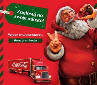 Świąteczna Ciężarówka Coca - Coli: Głosować mogą mieszkańcy [INFO]
