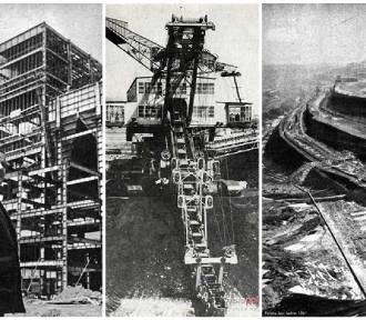 Imponująca kopalnia Turów na starych zdjęciach. Zobacz kosmiczne kratery i te maszyny