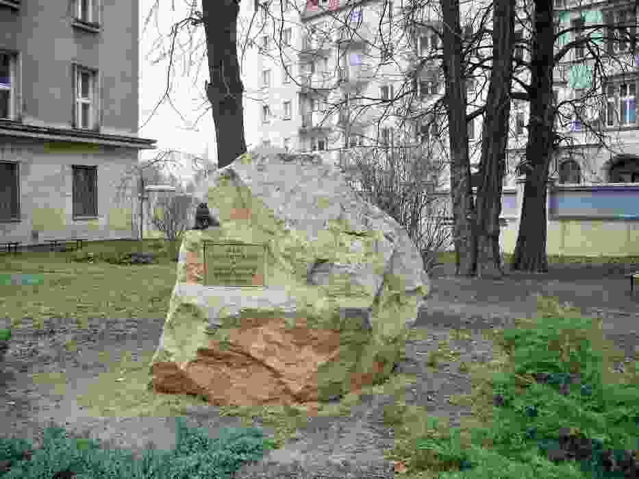 Z okazji Barbórki pod Instytutem Nauk Geologicznych Uniwersytetu Wrocławskiego przy ul
