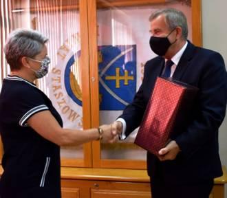 Zespół Kleks ze Staszowa nagrodzony przez starostę