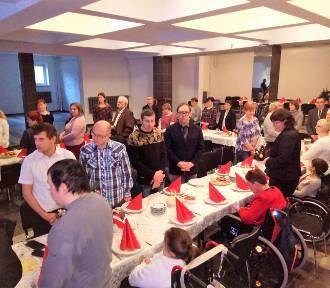 Spotkanie wigilijne Warsztatów Terapii Zajęciowej w Złotowie