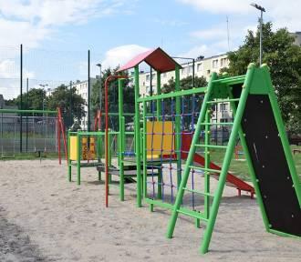 Plac zabaw przy SP10 z Budżetu Obywatelskiego [zdjęcia]