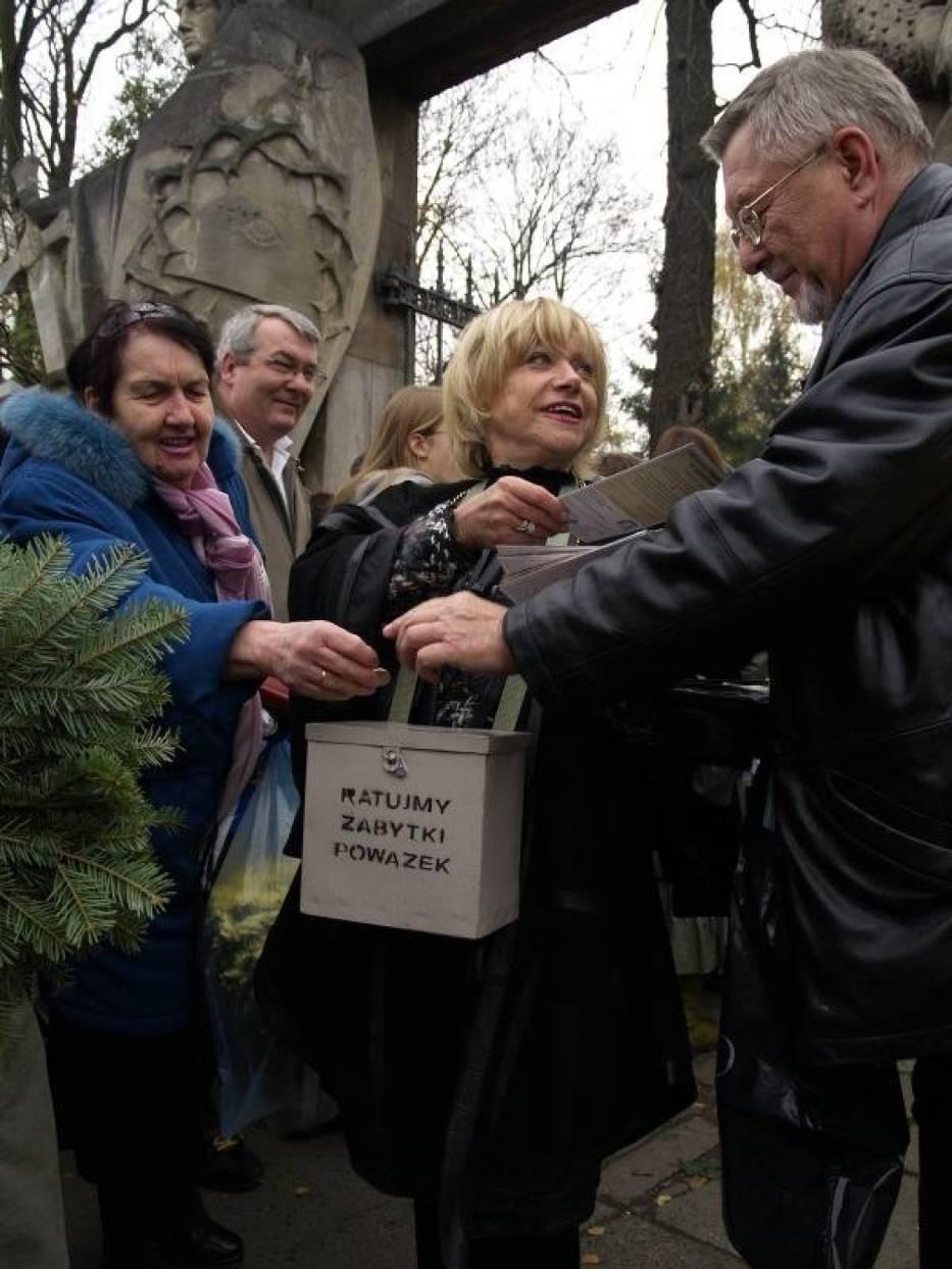 Krystyna Sienkiewicz kwestuje od lat