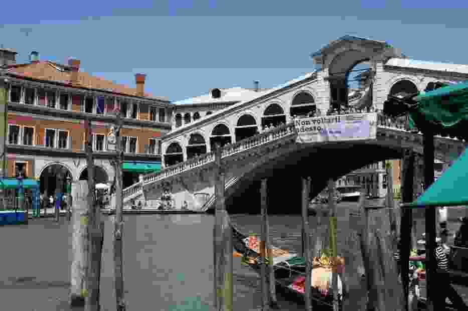 Wenecja - Canale Grande - Ponte Rialto
