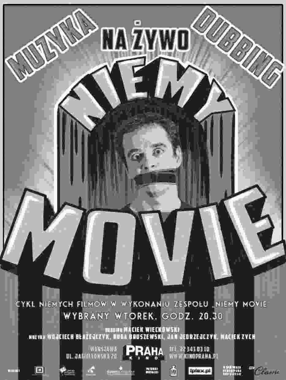 Nieme kino z muzyką i dubbingiem na żywo