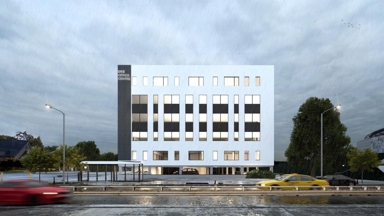 Nowe wizualizacje DTŚ Office Center przy DTŚ w Chorzowie
