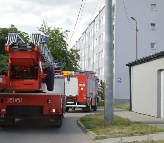 3 jednostki straży pożarnej w centrum Skierniewic. Powód? Sprawdźcie sami [ZDJĘCIA]
