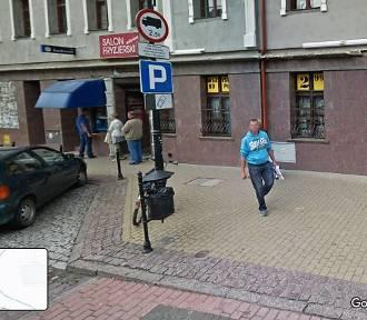 Mieszkańcy Sławna w Google Street View ZDJĘCIA cz 2
