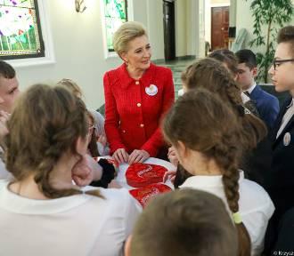 Uczniowie z Tychnów z wizytą w Pałacu Prezydenckim! [ZDJĘCIA]