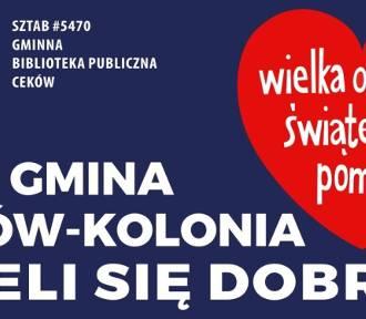 Finał WOŚP 2020. Wielka Orkiestra Świątecznej Pomocy zagra w gminie Ceków-Kolonia